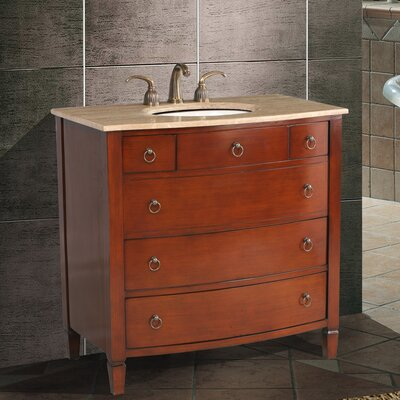 "Stufurhome Augustine 36"" Single Bathroom Vanity Set"