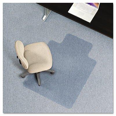 AnchorBar Task Series Low Pile Carpet Straight Edge Chair Mat by ES Robbins