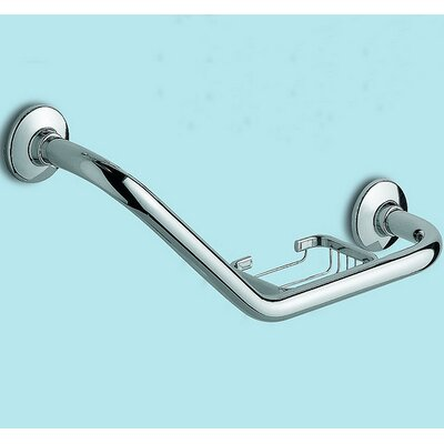 Gedy by Nameeks Grab Bar with Soap Holder