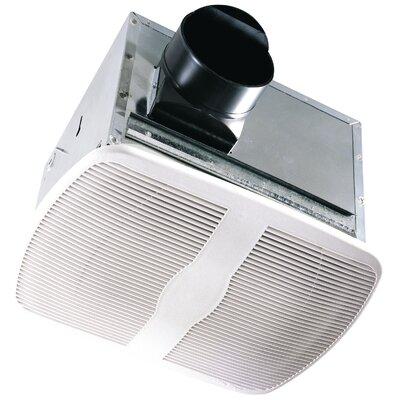 100 CFM Energy Star Qualified Dual Speed Exhaust Bathroom Fan by Air King