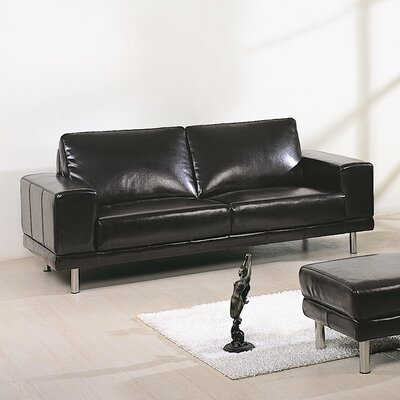 Concorde Leather Sofa by Beverly Hills Furniture