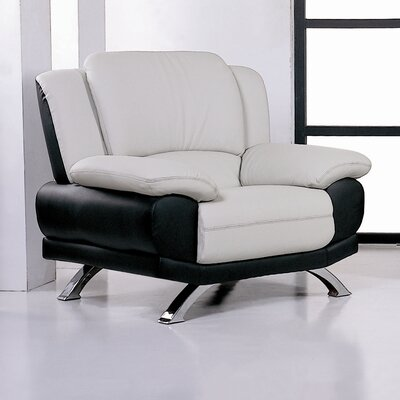 Caelyn Leather Chair by Beverly Hills Furniture