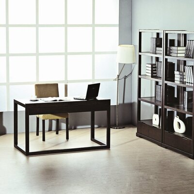 Beverly Hills Furniture Parson Office Writing Desk with Drawer