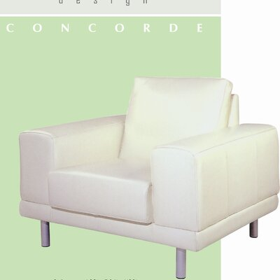 Concorde Leather Chair by Beverly Hills Furniture