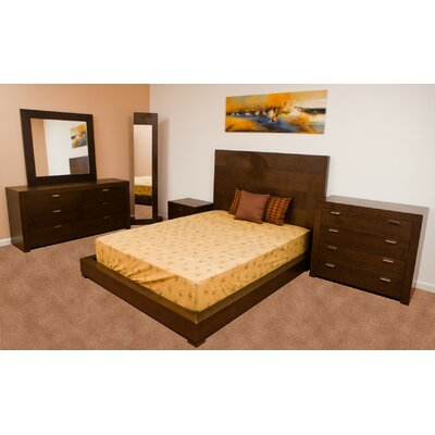Traxler Platform Bed by Beverly Hills Furniture