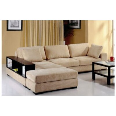 Beverly Hills Furniture Telus Sectional & Reviews