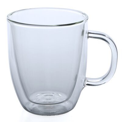 Bodum Bistro 15 oz. Glass Coffee Mug