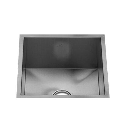 """Julien UrbanEdge 13.5"""" x 13"""" Single Bowl Specialty Kitchen Sink"""