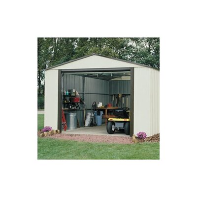 Murryhill 14 Ft. W x 31 Ft. D Vinyl Coated Steel Storage Shed by Arrow ...