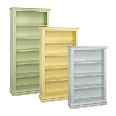 A&E Wood Designs Soraya Beach Standard Bookcase
