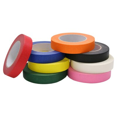 Chenille Kraft Company Colored Masking Tape 8 Roll Assorted