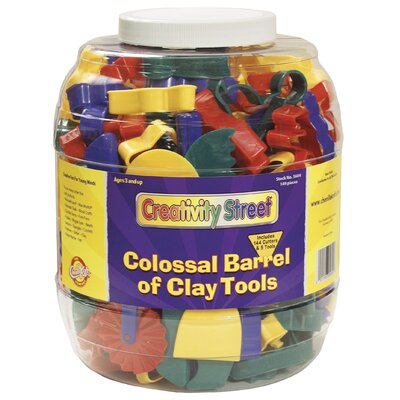 Colossal Barrel of Clay Tools by Chenille Kraft