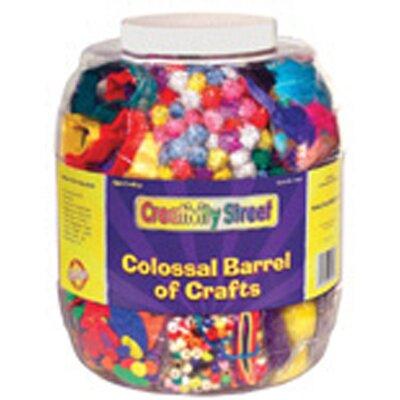 Chenille Kraft Company Colossal Barrel Of Crafts