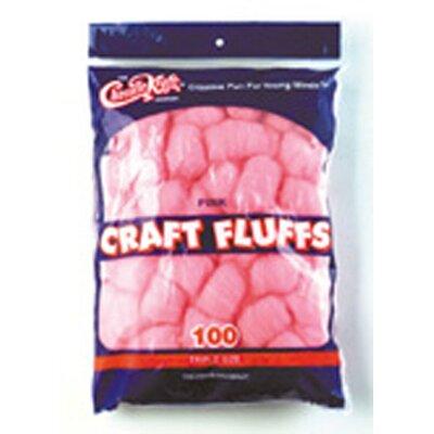 Chenille Kraft Company Craft Fluffs Pink