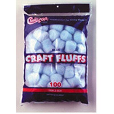 Chenille Kraft Company Craft Fluffs Blue