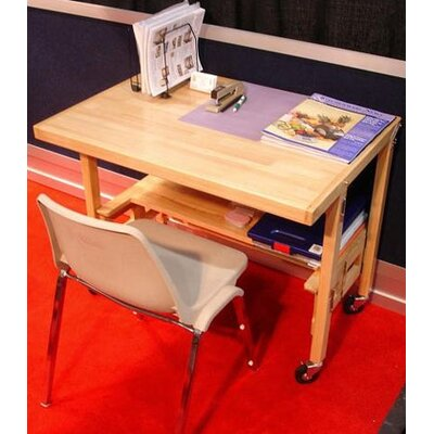 """Oasis Concepts 36"""" W X 24"""" D Flip and Fold Training Table"""