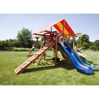 Redwood Big Top Swing Set Product Photo