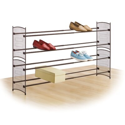 Stackable Mesh Shoe Rack by Lynk