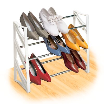 Lynk® Closet 9 Pair Convertible Shoe Rack