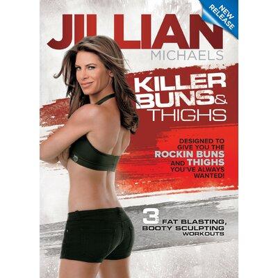 Gaiam Jillian Michaels Killer Buns and Thighs DVD