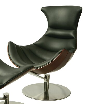 Legend Leather Lounge Chair by Pastel Furniture
