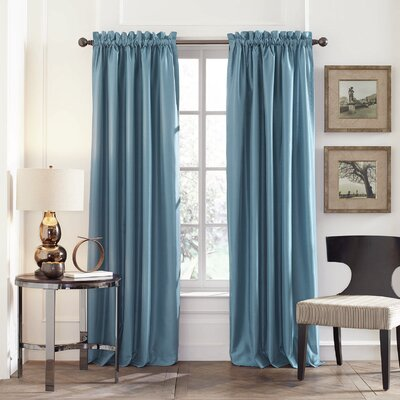 Perry Ellis Faux Silk Window Curtain Panels (Set of 2) Product Photo