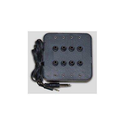 Avid Eight Position Socket Stereo Jack Box in Black