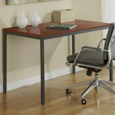 Jesper Office Parson Writing Desk with Steel Frame