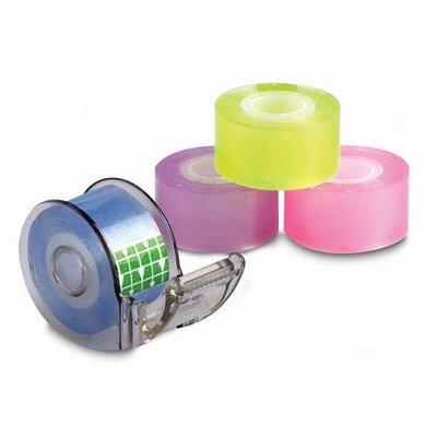 Baumgartens Mini Tape Dispenser for Pocket/Purse/Pouch, 4 per Pack