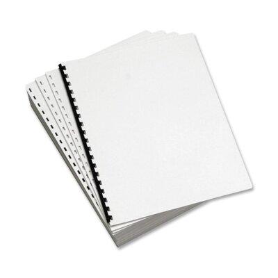 Domtar Custom Cut Sheets, 19-Hole GBC, 5 Reams per Carton, White