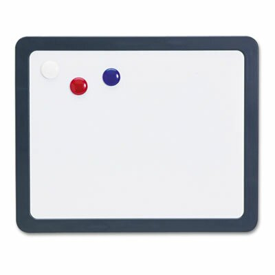 Officemate International Corp Slate Gray Frame Magnetic Dry Erase Board