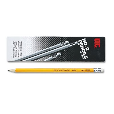 Officemate International Corp No. 2 Economy Woodcase Pencil, HB, Dozen