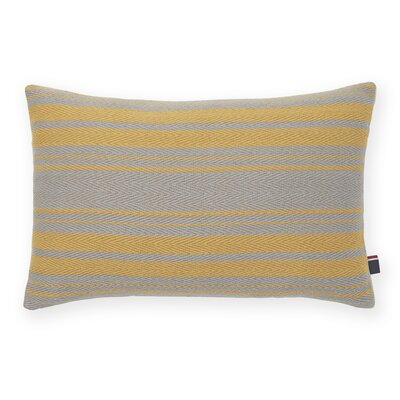 Woven Stripe Decorative Cotton Lumbar Pillow by Tommy Hilfiger