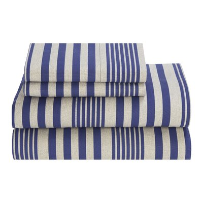 Seaport Stripe 180 Thread Count Sheet Set by Tommy Hilfiger