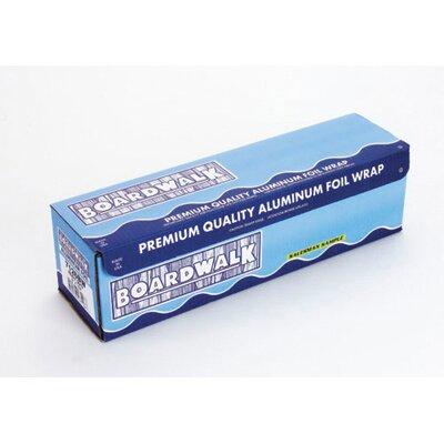 """Boardwalk 12"""" Heavy-Duty Aluminum Foil Roll in Silver"""