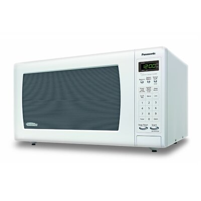 1.6 Cu. Ft. 1250W Countertop Microwave in White Product Photo