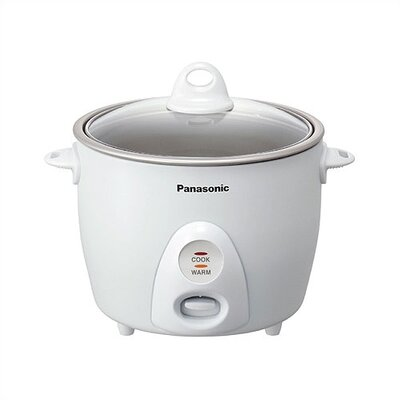 5.5 Cup Rice Cooker / Steamer by Panasonic