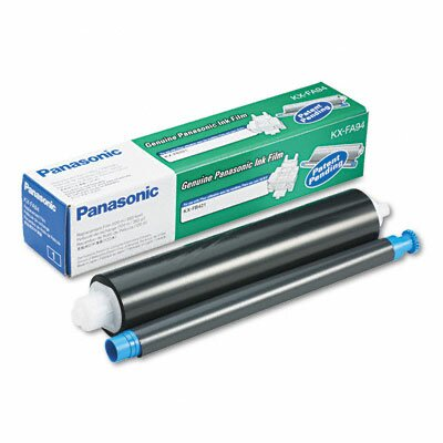 Panasonic® KXFA94 Black Ribbon Fax Cartridge