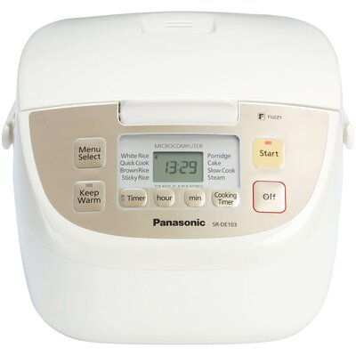 Fuzzy Logic 5-Cup Rice Cooker by Panasonic