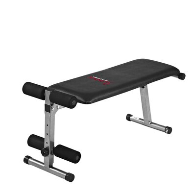 2 In 1 Flat/Sit-Up Bench by Sunny Health & Fitness