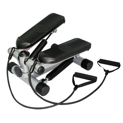 Sunny Health & Fitness Mini Stepper with Resistant Bands