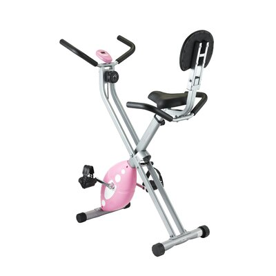 Folding Recumbent Bike by Sunny Health & Fitness