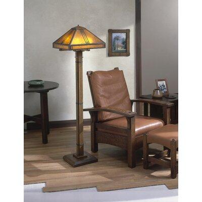 Prairie tiffany 6275quot floor lamp wayfair for Tiffany style arroyo floor lamp