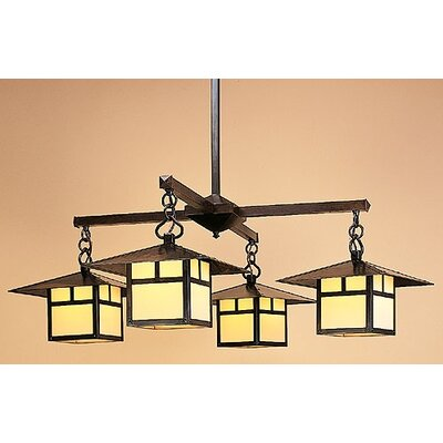 Arroyo Craftsman Monterey 4 Light Chandelier