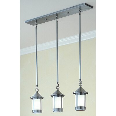 Arroyo Craftsman Berkeley 3 Light Island Light