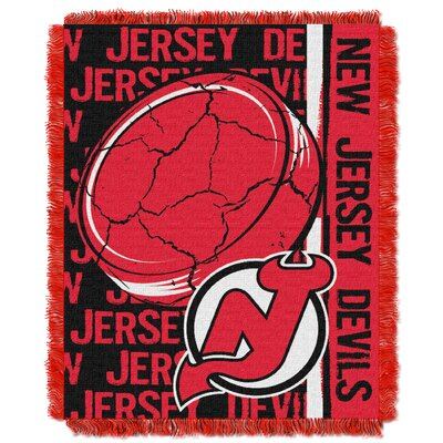 NHL Devils Double Play Woven Throw by Northwest Co.