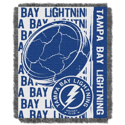 NHL Lightning Double Play Woven Throw by Northwest Co.