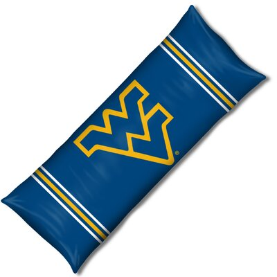 NCAA West VirginIa Lumbar Pillow by Northwest Co.