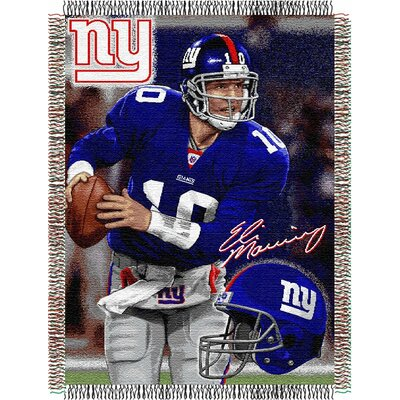 Official NFL Style 051 Eli Manning Players by Northwest Co.