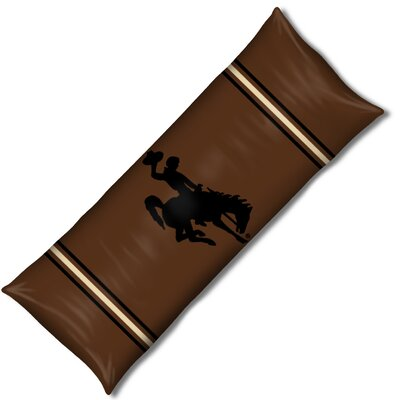 NCAA Wyoming Lumbar Pillow by Northwest Co.